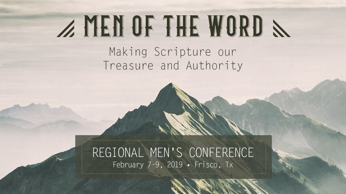 Men of the Word - Regional Men's Conference