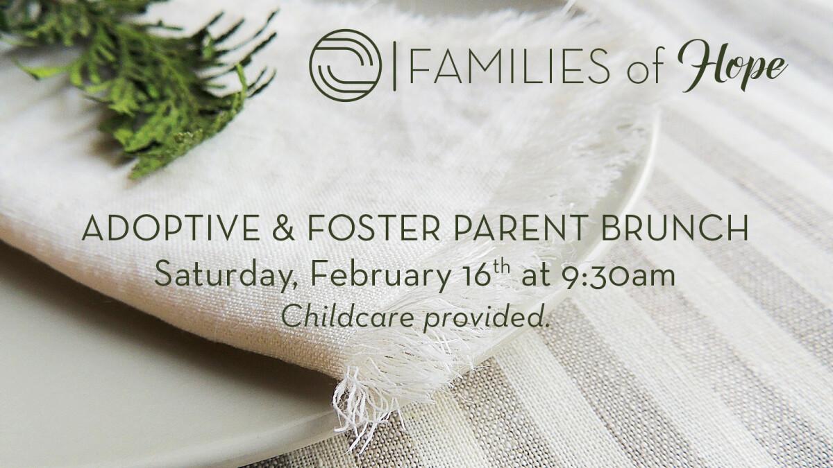 Adoptive and Foster Parent Brunch