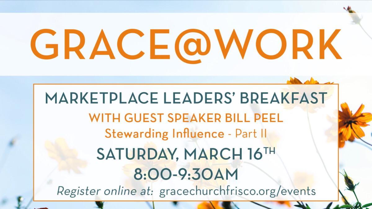 Grace@Work Workplace Breakfast