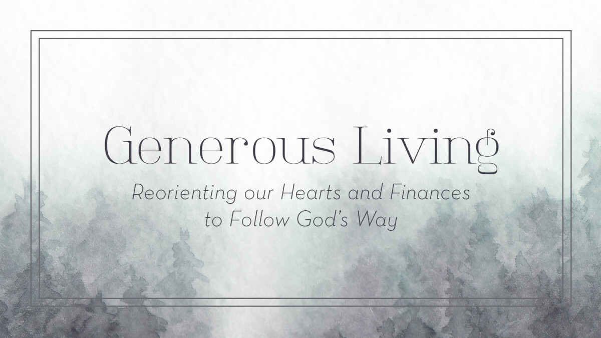 Generous Living Growth Group